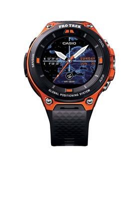 CASIOUnisex Silicone Smart Watch