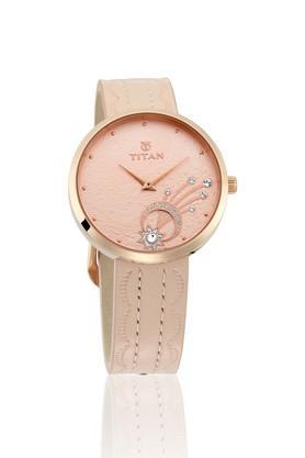 Womens Analogue Leather Watch - 95083WL01
