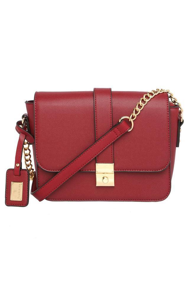 Womens Hook and Loop Closure Sling Bag