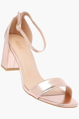 TRESMODE Womens Party Wear Buckle Closure Heels - 203217727_9106