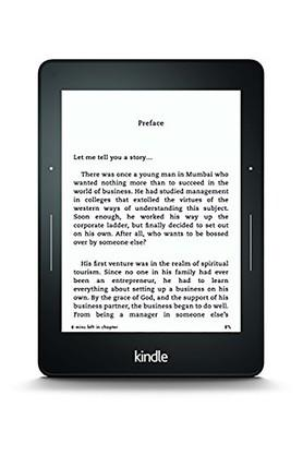 Kindle Voyage Wi-Fi Black - B00IOY5AS6