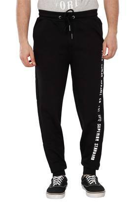 X BEING HUMAN Mens 3 Pocket Solid Track Pants