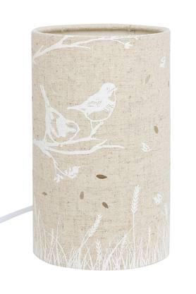 IVYCylindrical Slub Table Lamp - 204630326_9112