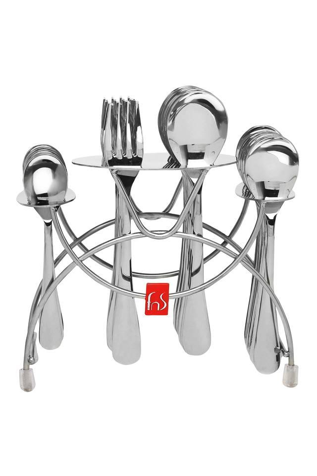 Victoria Fork and Spoon with Cutlery Holder Set of 24