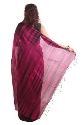 Women Ikkat Cotton Saree