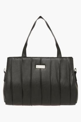 ELLIZA DONATEINWomens Zipper Closure Satchel Handbag - 203372149