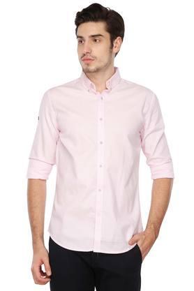 Mens Buttondown Collar Stripe Shirt