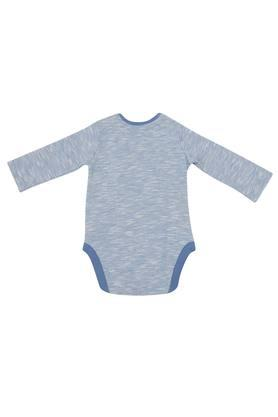 Boys Round Neck Printed Bodysuit
