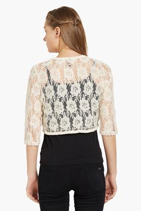 Womens Lace Shrug