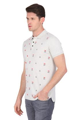 Mens Embroidered Polo T-Shirt