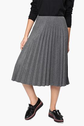 NUSH Womens Textured Casual Skirt