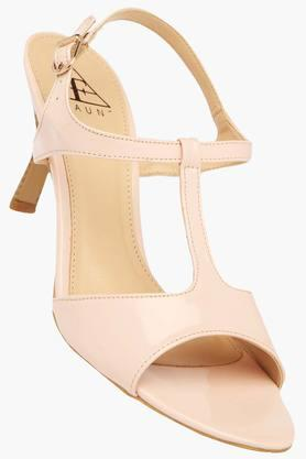 FEMINA FLAUNT Womens Party Wear Buckle Closure Heels