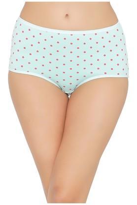 Womens High Waist Polka Dots Hipster Briefs