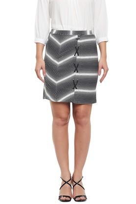LATIN QUARTERS Womens Printed Skirt