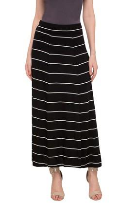 STOP Womens Striped Long Skirt