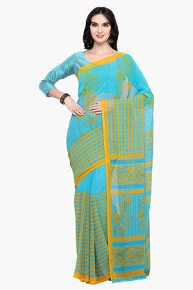 DEMARCA Womens Faux Georgette Printed Saree - 203229617