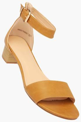 VAN HEUSEN Womens Casual Wear Buckle Closure Heels - 203155304