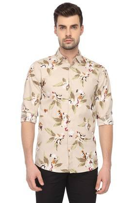 09022c5463 X JACK AND JONES Mens Floral Print Casual Shirt