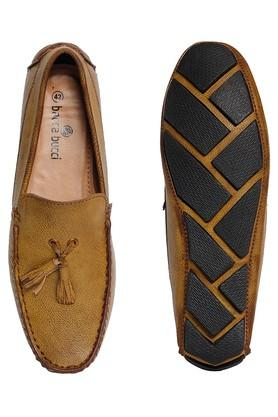 Mens PU Slipon Moccasins