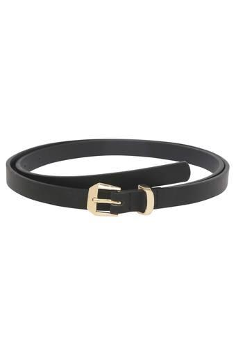Womens Buckle Closure Casual Belt - Set of 3