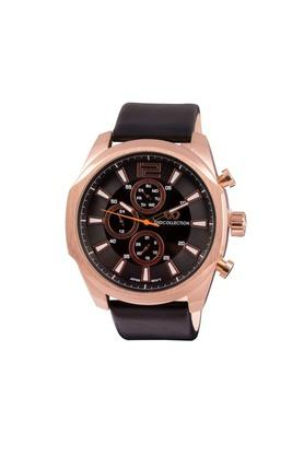 Mens Brown Dial Multi-Function Watch