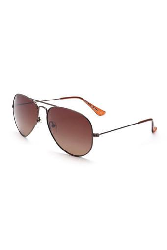 Mens Full Rim Aviator Sunglasses - 4755 C2 S
