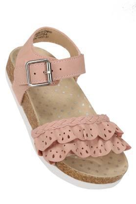 Girls Buckle Closure Sandals