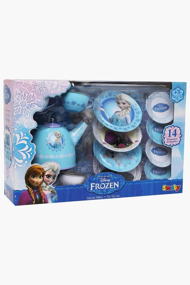 Unisex Frozen Porcelain Tea Play Set - 14 Pieces