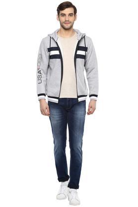 Mens Hooded Stripe Sweatshirts