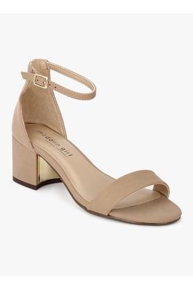 STEVE MADDENWomens Casual Wear Buckle Closure Heels