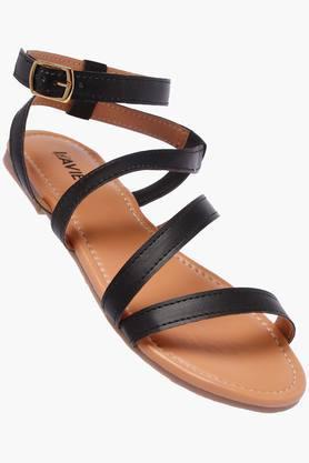 LAVIEWomens Casual Wear Buckle Closure Flats - 202520364