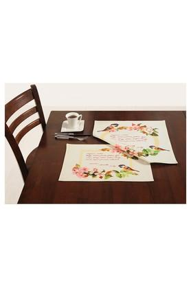 Floral Printed Place Mats Set of 4