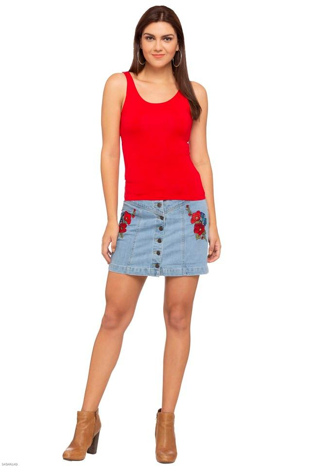 Womens Assorted Short Skirt