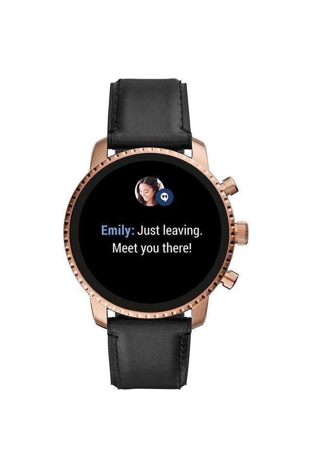 Mens Gen 4 Explorist HR Stainless Steel Touchscreen Smart Watch - FTW4017