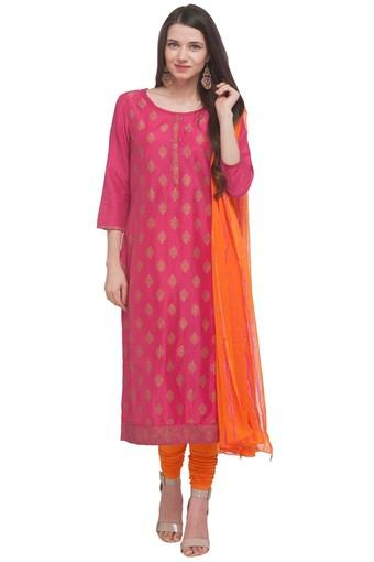 IMARA -  Pink Salwar & Churidar Suits - Main