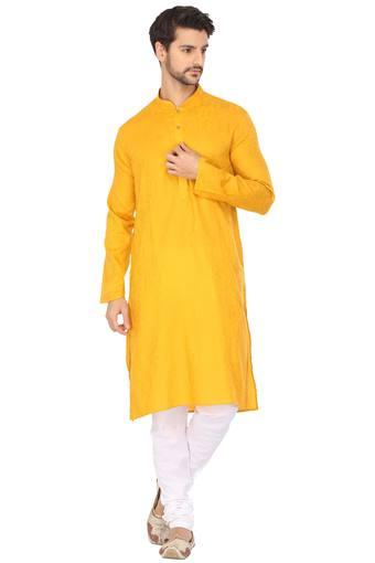 ETHNIX -  Yellow Ethnic Wear - Main