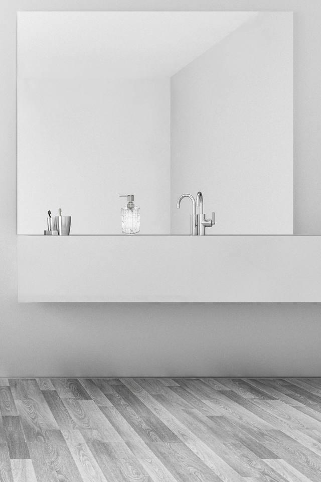 Agua Crystal Transparent Soap Dispenser