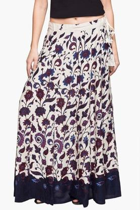 IMARA Womens Printed Long Skirt - 203080101_9100