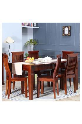 Brown Mace 6 Seater Dining Set
