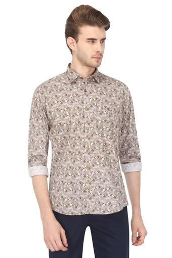LOUIS PHILIPPE SPORTS -  Beige Casual Shirts - Main
