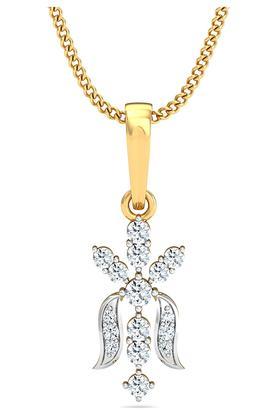 P.N.GADGIL JEWELLERSWomens Dazzling Diamond Pendant DJPD-125