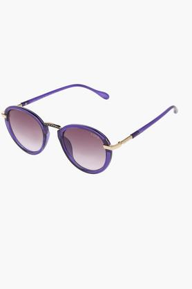 Womens Non Polarized Round Sunglasses LIO30C71