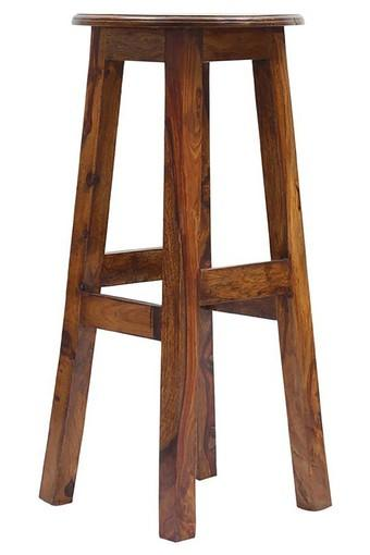 Brown Geomi Bar Stool