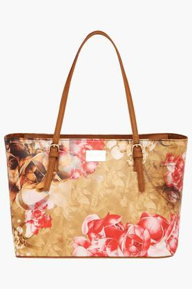 SATYA PAUL Womens Zipper Closure Tote Handbag - 203029082
