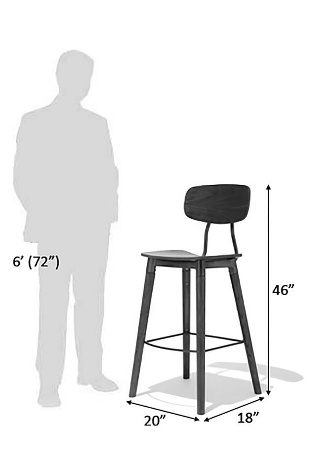 Multi Color Richardson Bar Chair