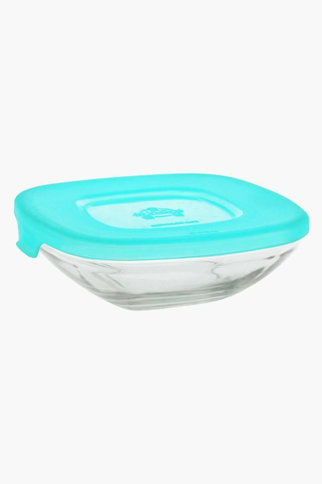 Square Transparent Container with Lid