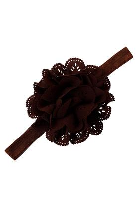 Girls Perforated Flower Hairband