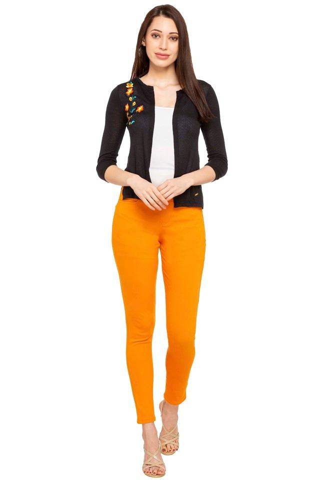 Womens Coated Jeggings