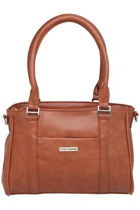 ELLIZA DONATEINWomens Zipper Closure Satchel Handbag - 203524628_9124
