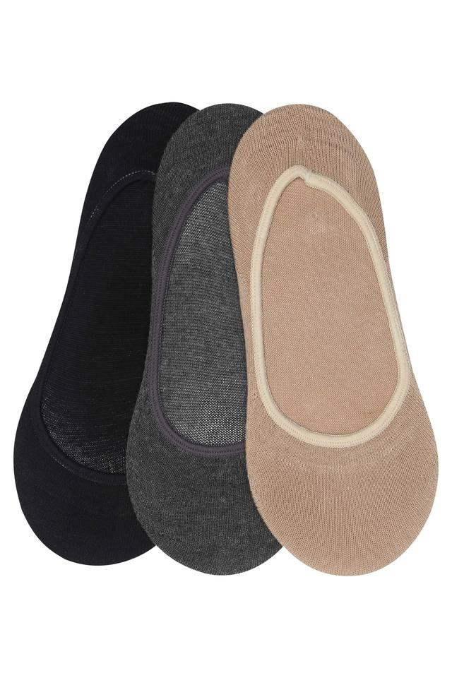Womens Slub Socks Pack of 3